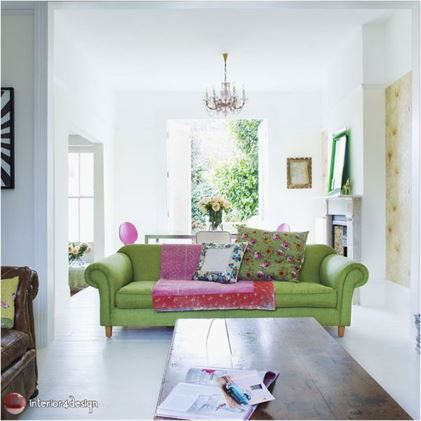 Green Color In Details Of Interior Designs 18
