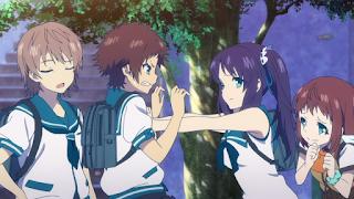 جميع حلقات انمي Nagi no Asukara مترجم عدة روابط