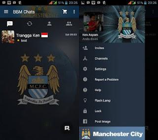 BBM MOD MANCHESTER CITY v3.0.0.18 Apk Terbaru