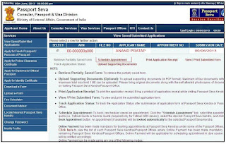How to make payment & Schedule Appointment for passport online