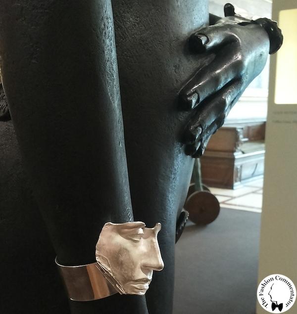 Mostra Gioielli d'artista Firenze - Igor Mitoraj - Luci, bracciale, 2009