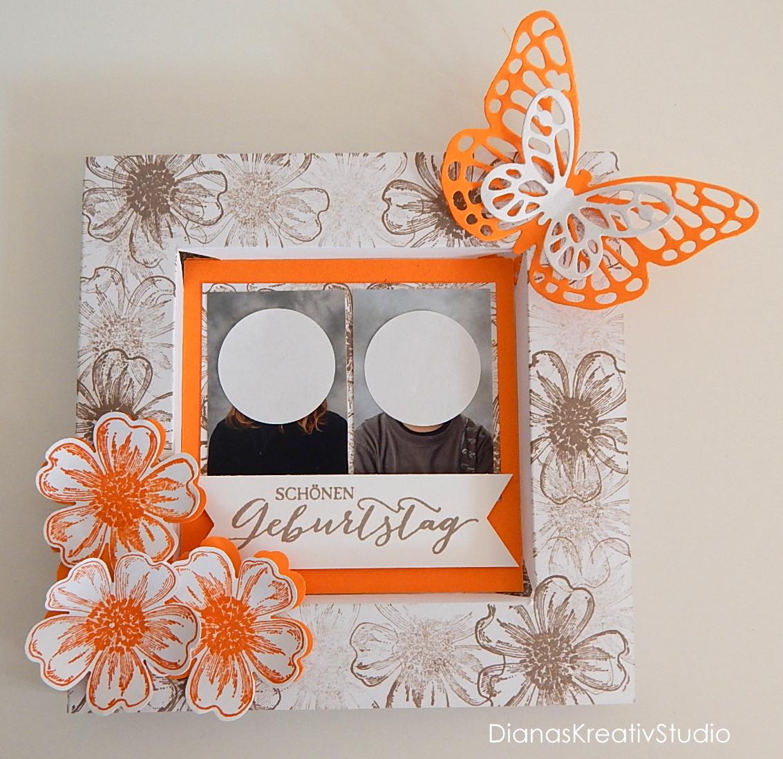 DianasKreativStudio --- Schönes aus Papier: Schön gerahmt .... und ...