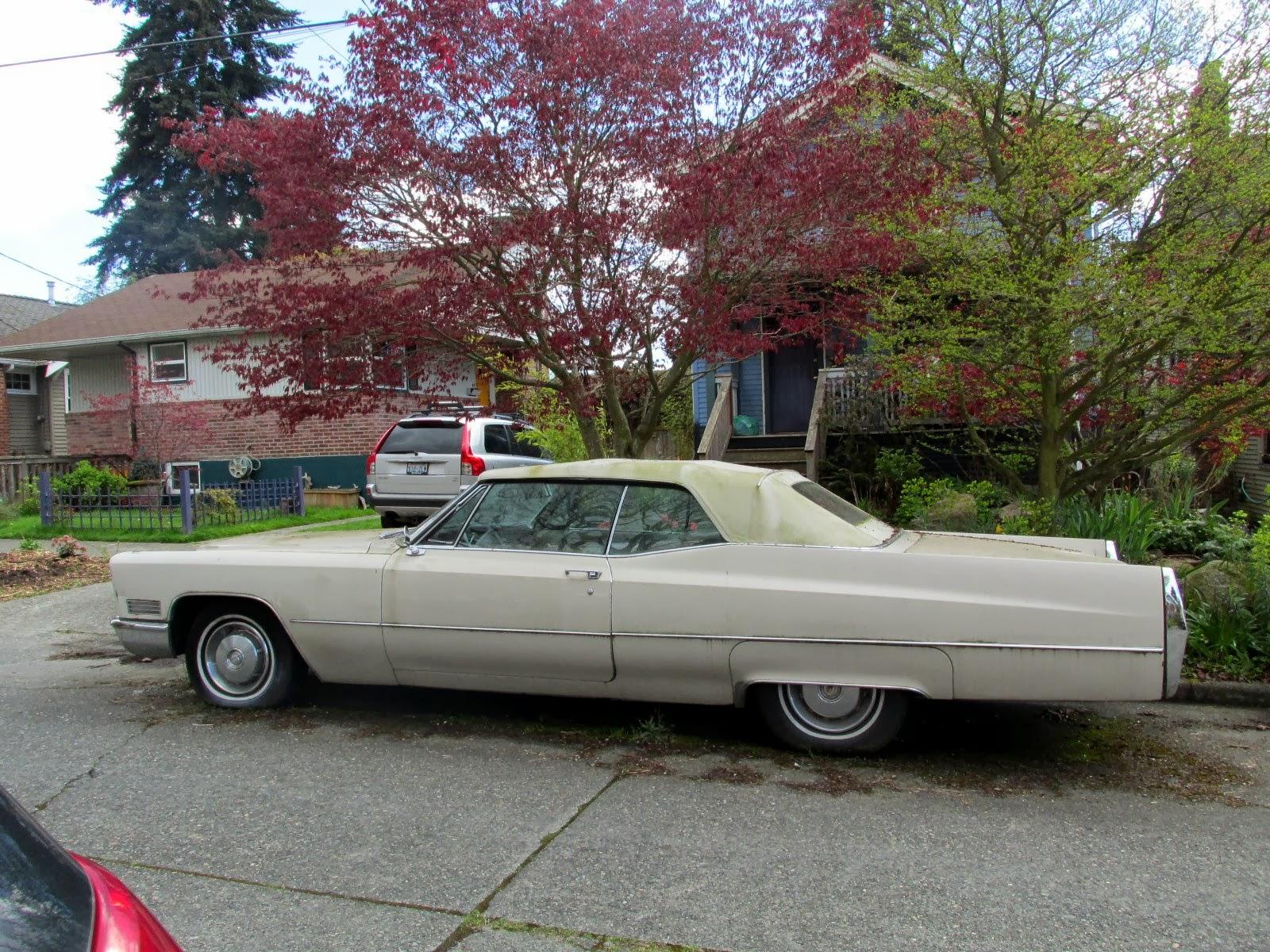 Seattle's Classics: 1967 Cadillac DeVille Convertible