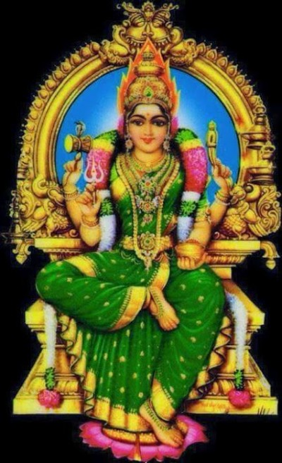 Hindu Goddess bhuvaneswari mata photo