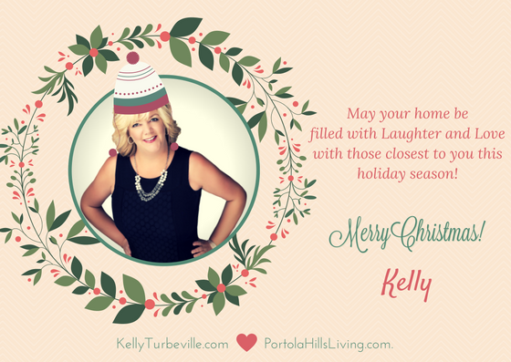 Holiday greetings from Realtor Kelly Turbeville