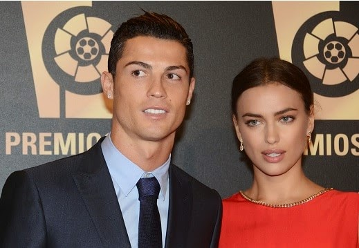 Ronaldo reveals girlfriend Irina steals his CR7 Boxers