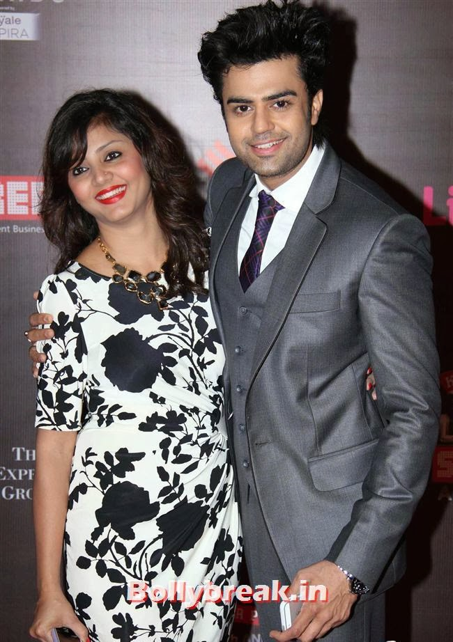 Manish Paul, Bollywood Wags at Screen Awards 2014