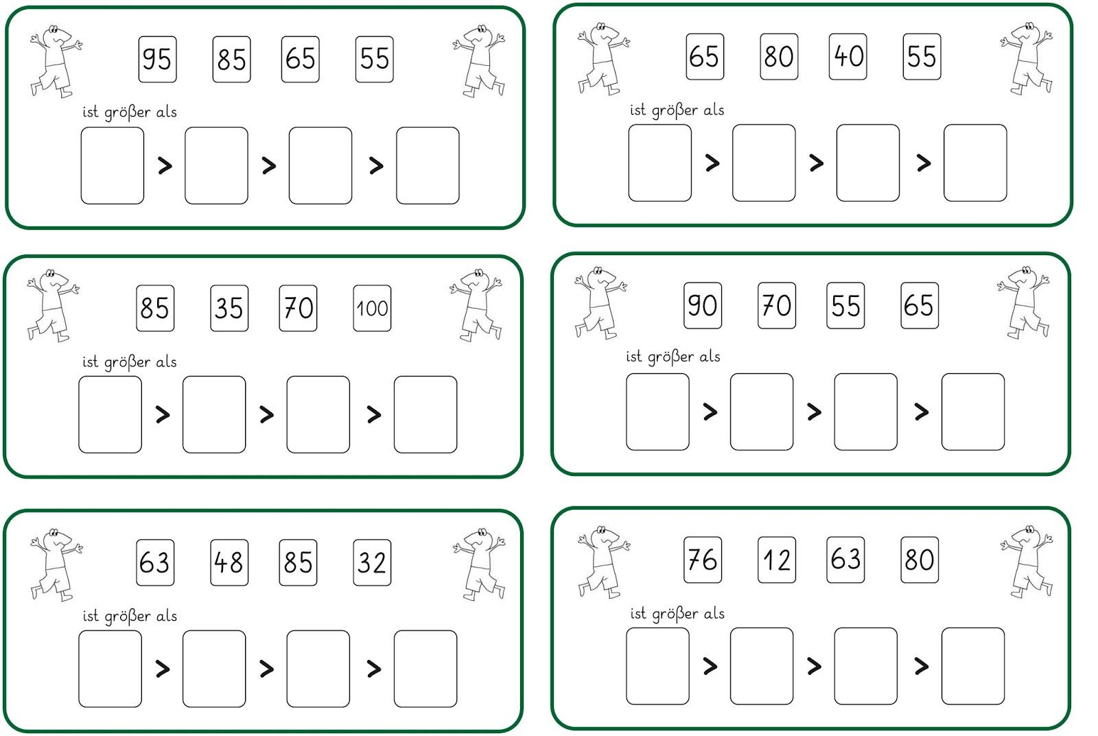 Nice Vergleichen Zahlen Arbeitsblatt Kindergarten Component ...