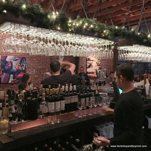bar at District San Francisco in San Francisco, California