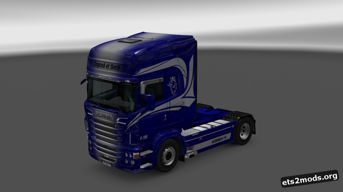 Legend of North Skin for Scania RJL