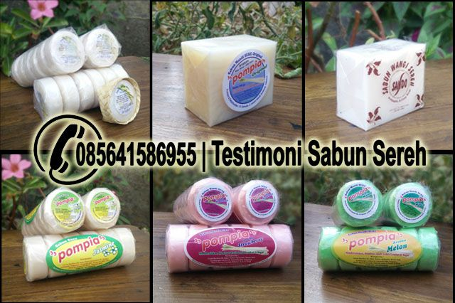 Manfaat - Review - Testimoni Sabun Sereh