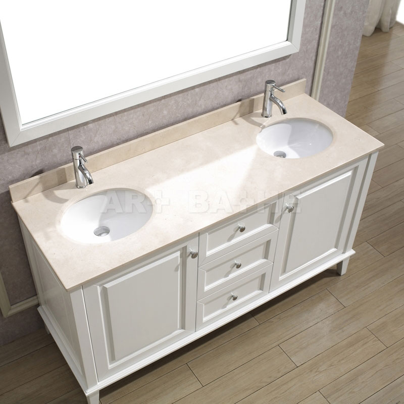 Antique bathroom vanities classic style white bathroom vanities for Bathroom vanities vintage style