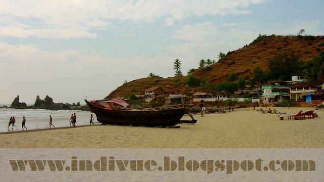 Arambol Beach, Goa, Intia