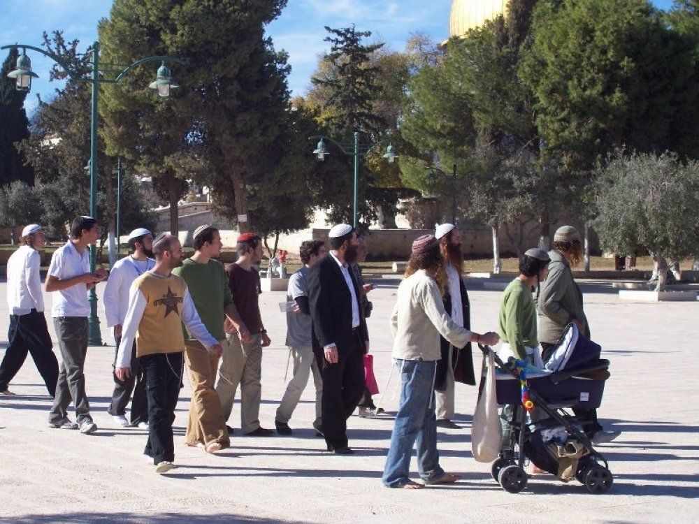 Jew Detector: Record Number Of Jews Visiting Temple Mount; Muslims Call