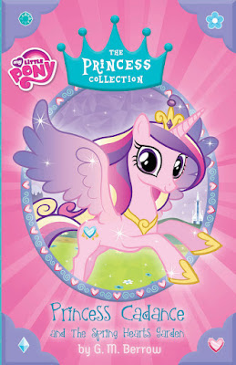 Princess Cadance and the Spring Hearts Garden Cover
