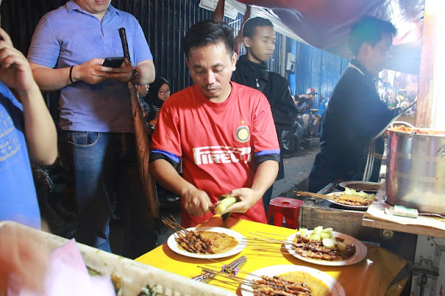 Sate Ayam H.Ishak Pasar Lama Kota Tangerang