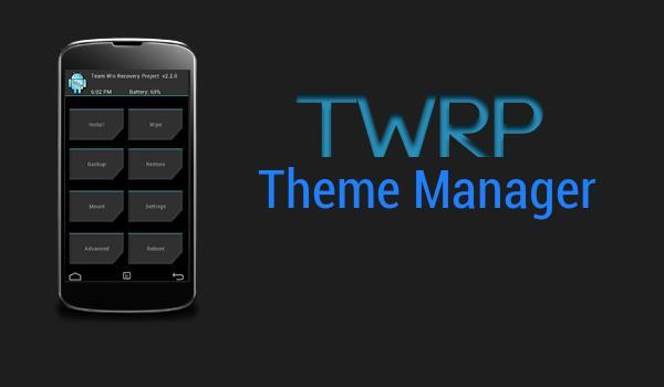 Download TWRP Lengkap Untuk Android terbaru