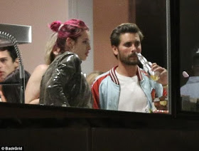 Scott Disick and Bella Thorne are back together, seen partying and drinking