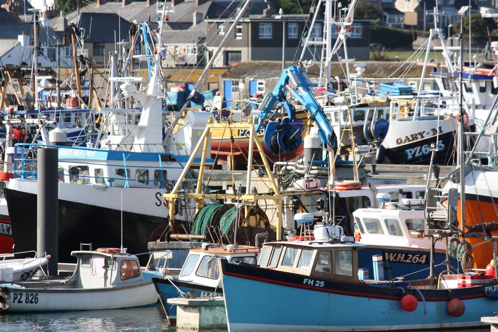newlyn harbour restaurants