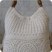 Cartera tejida a Crochet
