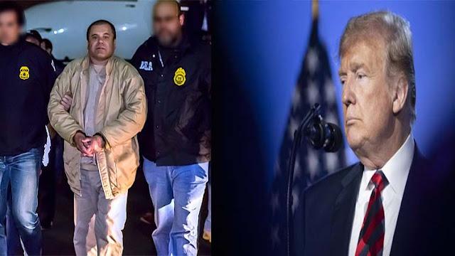 """Abogado de """"El Chapo"""" pide a Trump que haga algo para liberar a su cliente ¡No ha hecho nada malo, y su familia lo necesita!"""