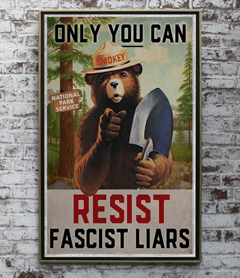 Only You Can Resist Facist Liars