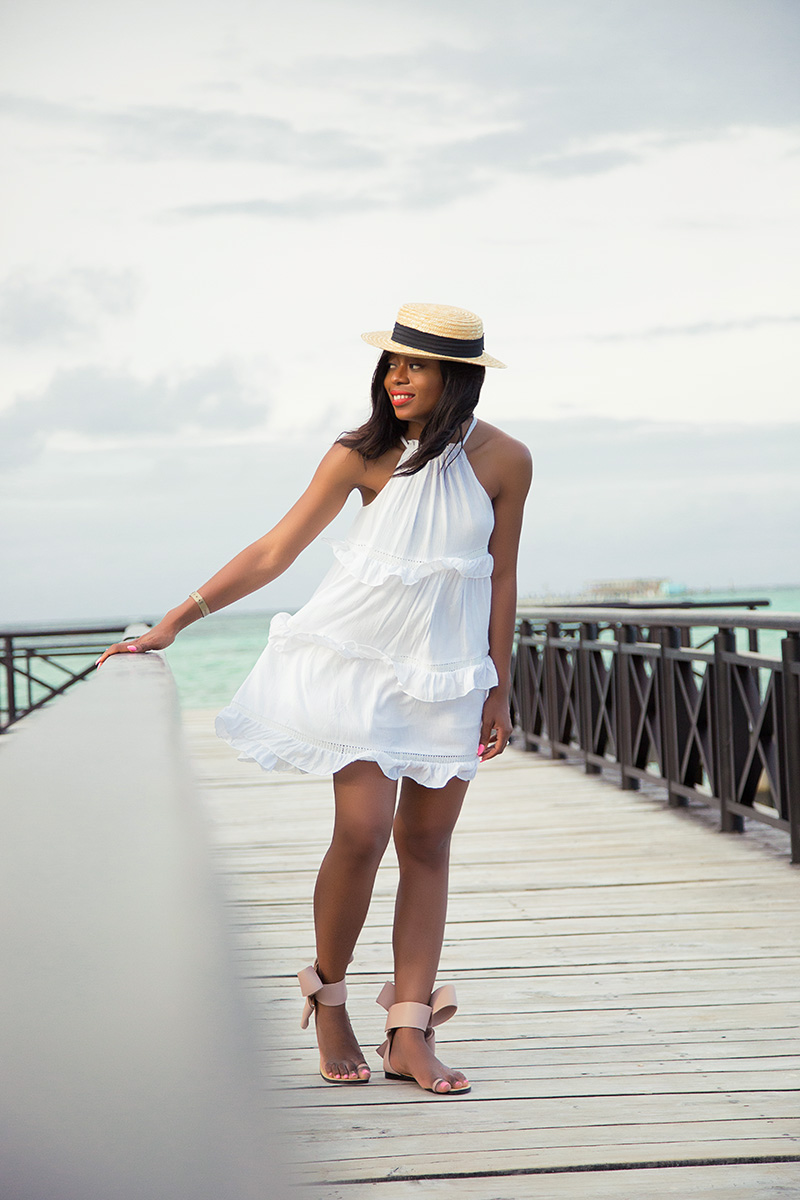punta cana, dominican republic, chicwish white dress, www.jadore-fashion.com