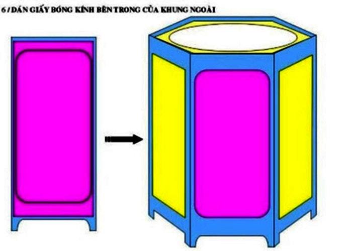 Cách làm đèn kéo quân truyền thống Cách làm đơn giản chi tiết