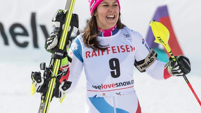 Wendy Holdener Takes Victory in Lenzerheide Alpine Combined
