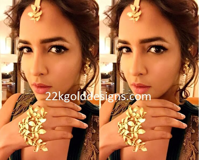 Lakshmi Manchu in Designer Jewellery