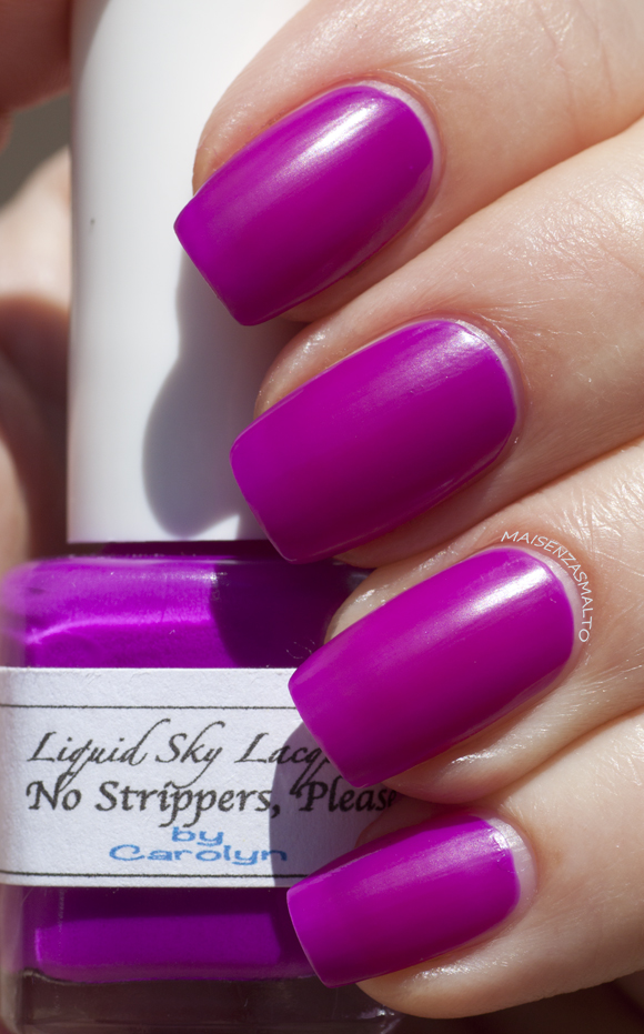 Liquid Sky Lacquer No Strippers, Please