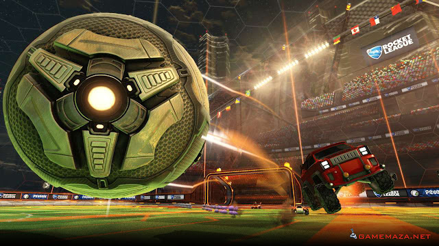 Rocket League NBA Flag Pack Gameplay Screenshot 2