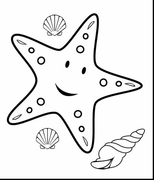 Spectacular Cartoon Starfish Coloring Pages With Starfish Coloring Page And  Patrick Starfish Coloring Pages