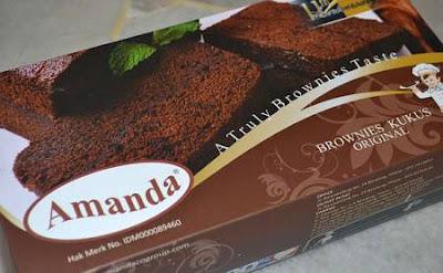Harga Brownies Amanda November 2017 Dan Alamat