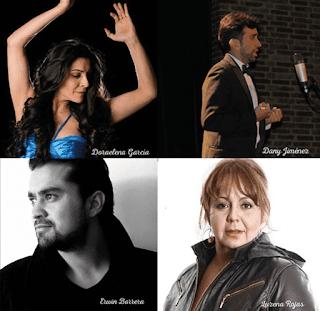 Bellas canciones del habla hispana en vivo