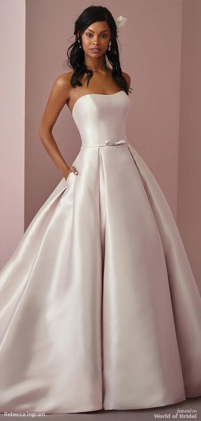 Rebecca Ingram Fall 2018 Wedding Dresses - World of Bridal