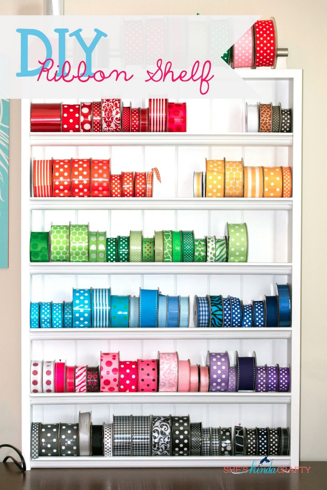Delicieux Ribbon Storage Ideas