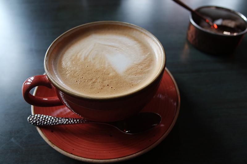 Latte at Toast, Altrincham
