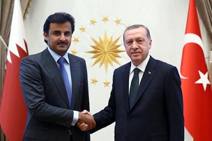 Bela Qatar, Erdogan 'Ceramahi' Arab Saudi