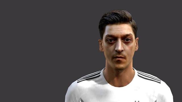Mesut Özil Face PES 2013