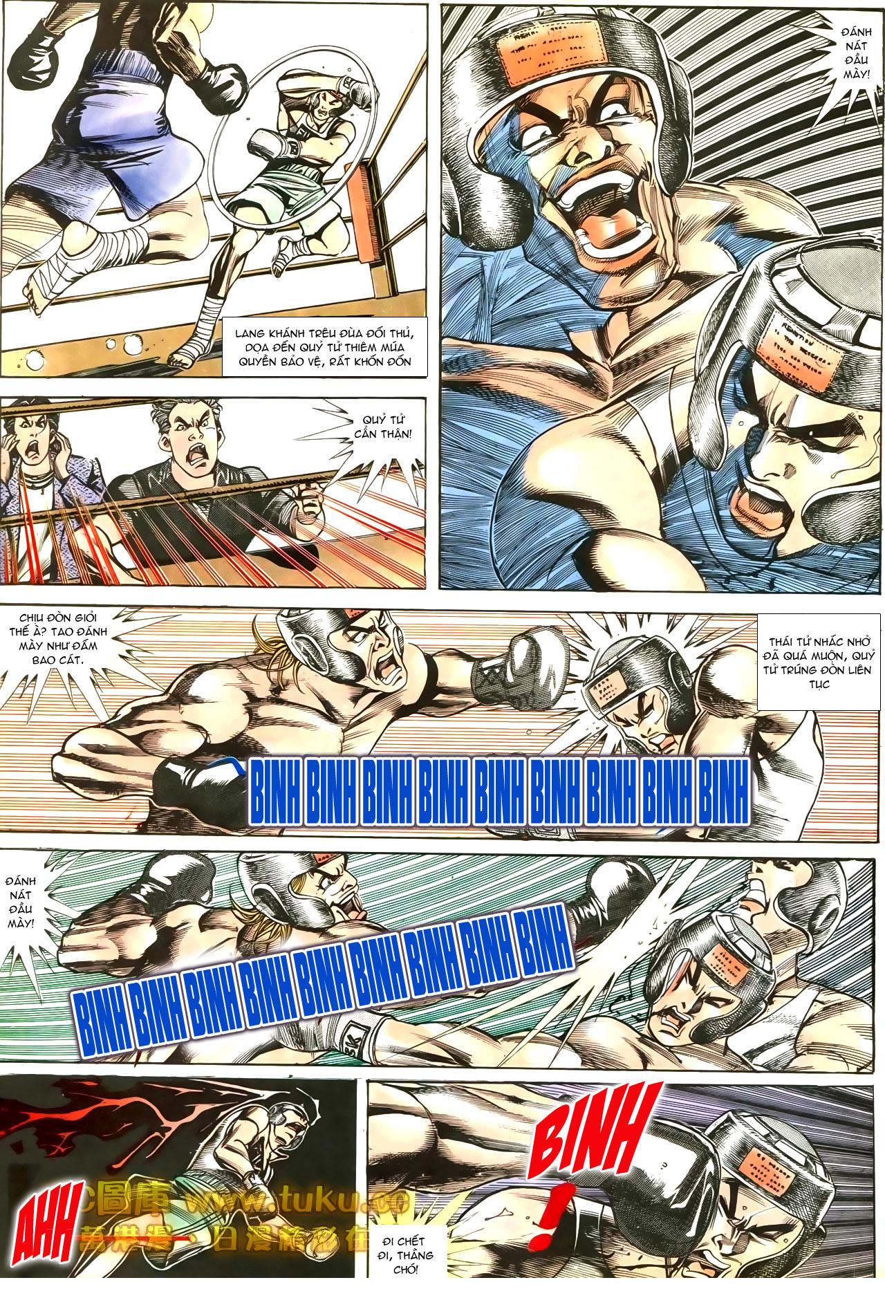 Người Trong Giang Hồ chapter 188: chiến nô trang 16