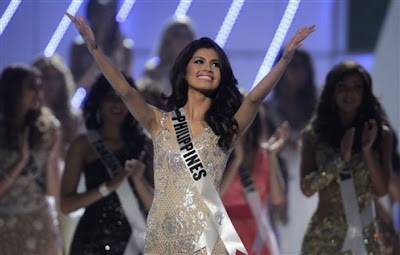 Ms Universe 2011 3rd runner up Shamcey Supsup