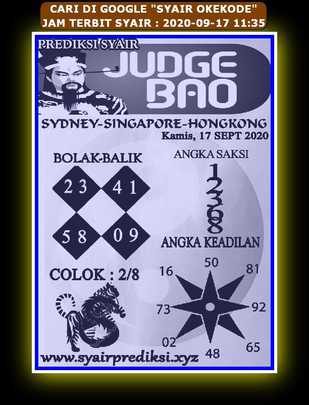 Kode syair Hongkong Kamis 17 September 2020 214