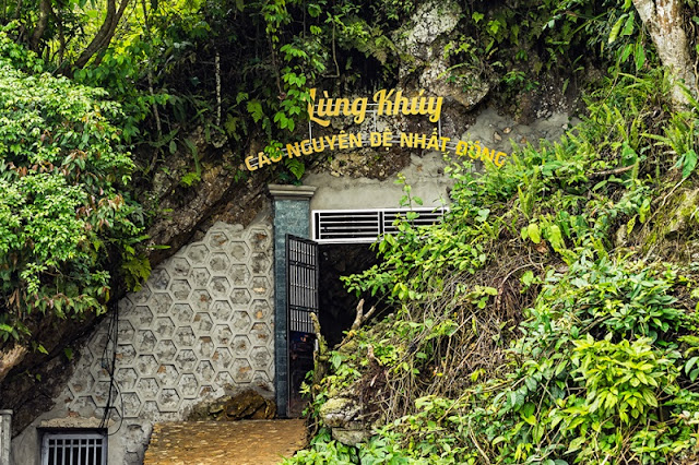 First cave on the plateau in Ha Giang 2