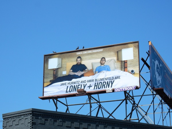 Lonely and Horny Vimeo billboard