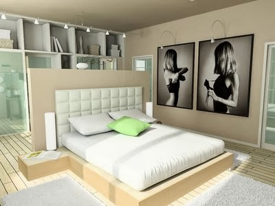 decor render dormitorio solteras recamara soltero