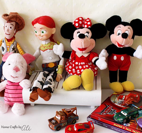 Disney toys stuffed animals and other souvenirs