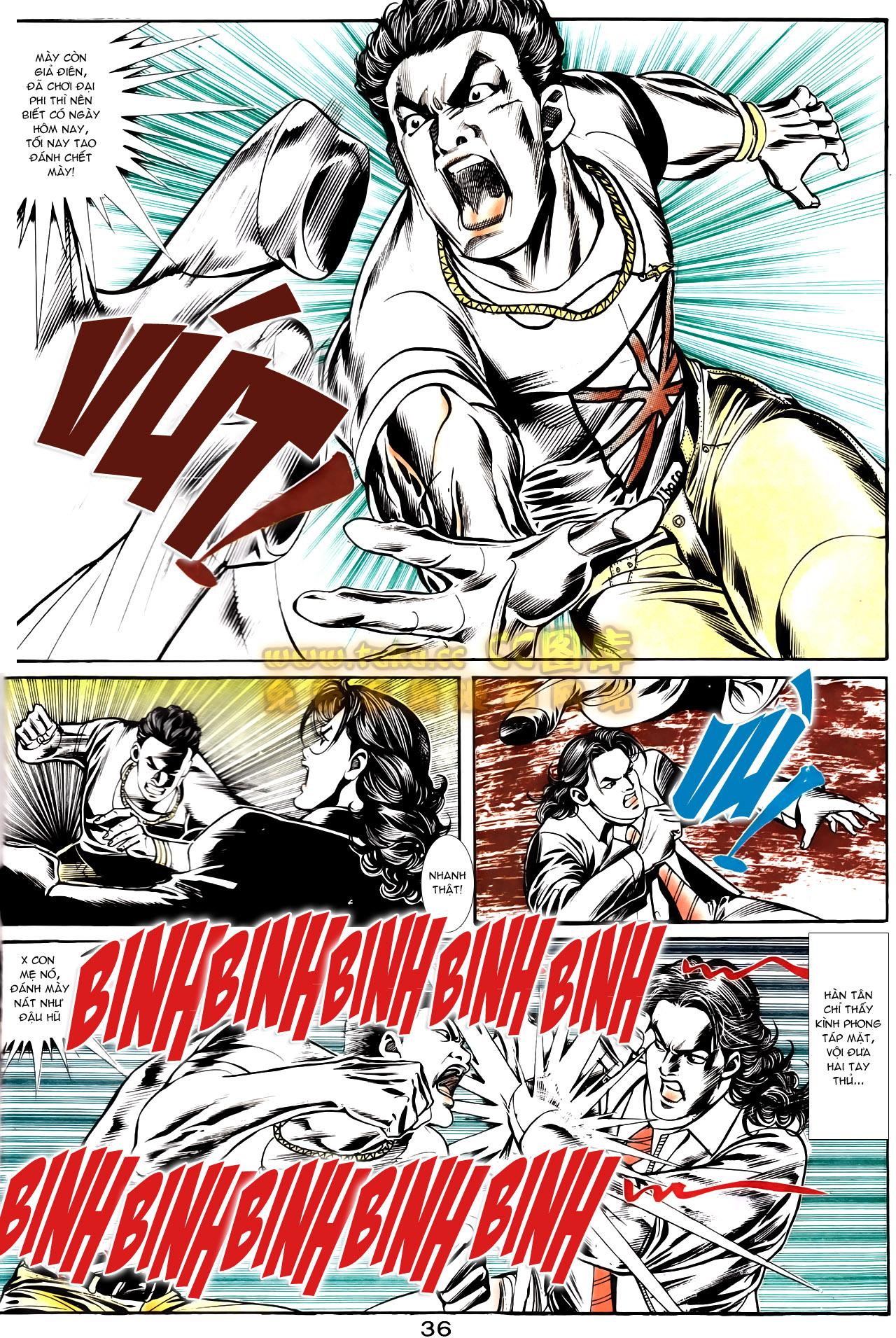 Người Trong Giang Hồ chapter 164: hạo nam chiến quạ đen trang 8