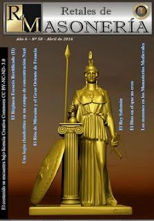Retales de Masonería 58 – Abril 2016