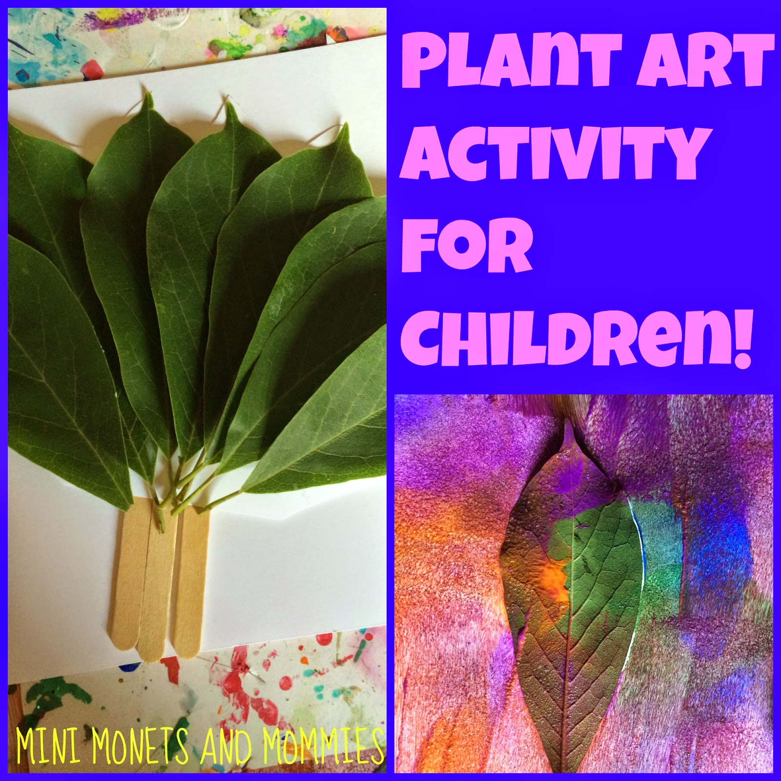 Nature Art Projects – Irving Park Early Learning Center |Nature Paintings For Children